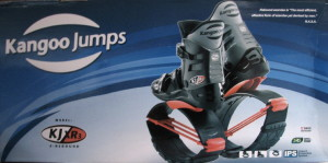 Kangoo Jumps Logo and boots